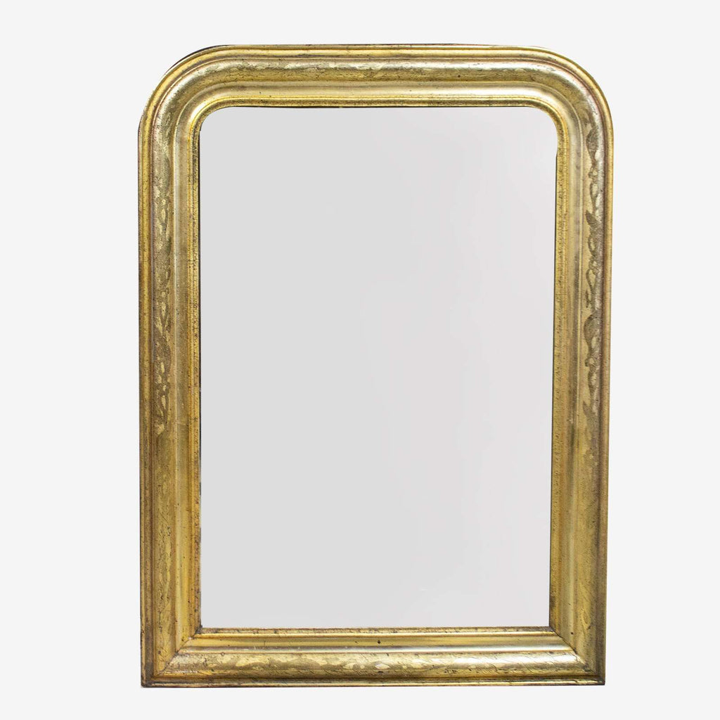 Mirror with Floral Etchings - TERTIUS COLLECTION