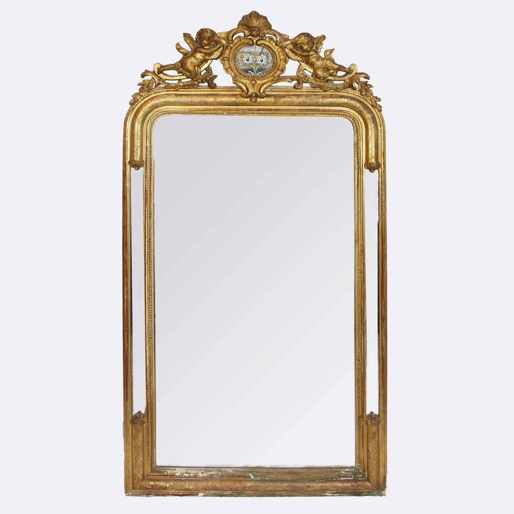 Mirror with Puttis - TERTIUS COLLECTION