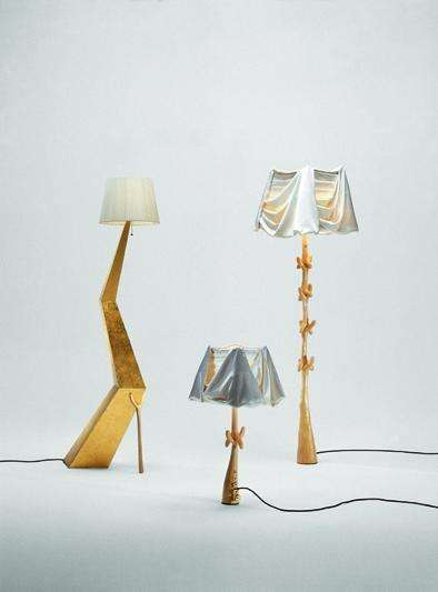Muletas lamp - Dali inspired Barcelona Design Functional Furniture