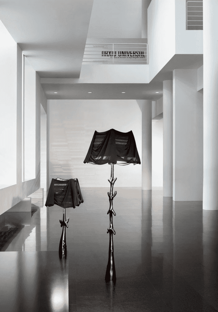 Muletas lamp | Black Label - Dali inspired Barcelona Design Functional Furniture