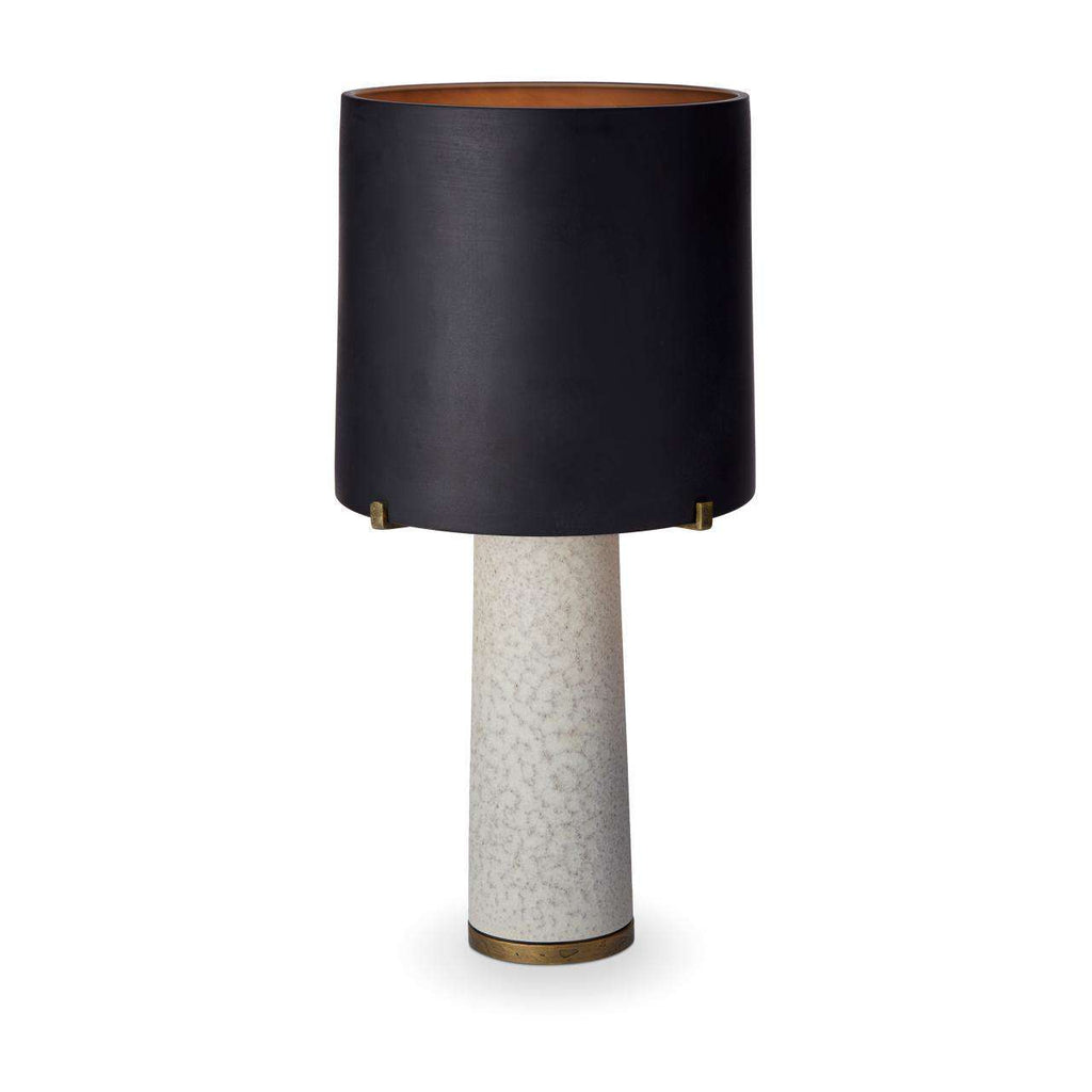 Pakal Table Lamp - Black & Grey - TERTIUS COLLECTION