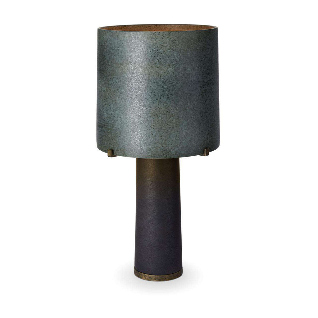 Pakal Table Lamp - Green & Black - TERTIUS COLLECTION