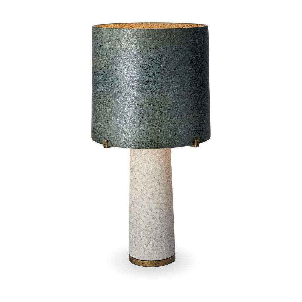 Pakal Table Lamp - Green & Grey - TERTIUS COLLECTION