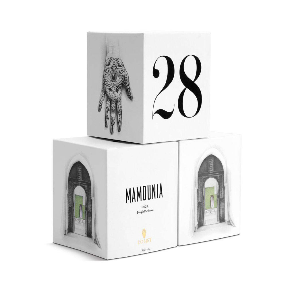 Parfums de Voyage Mamounia No.28 Candle - TERTIUS COLLECTION