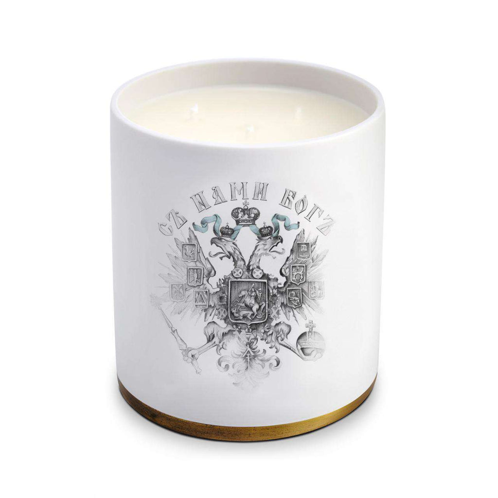 Parfums de Voyage Thé Russe No.75 Candle - 3-wick - TERTIUS COLLECTION