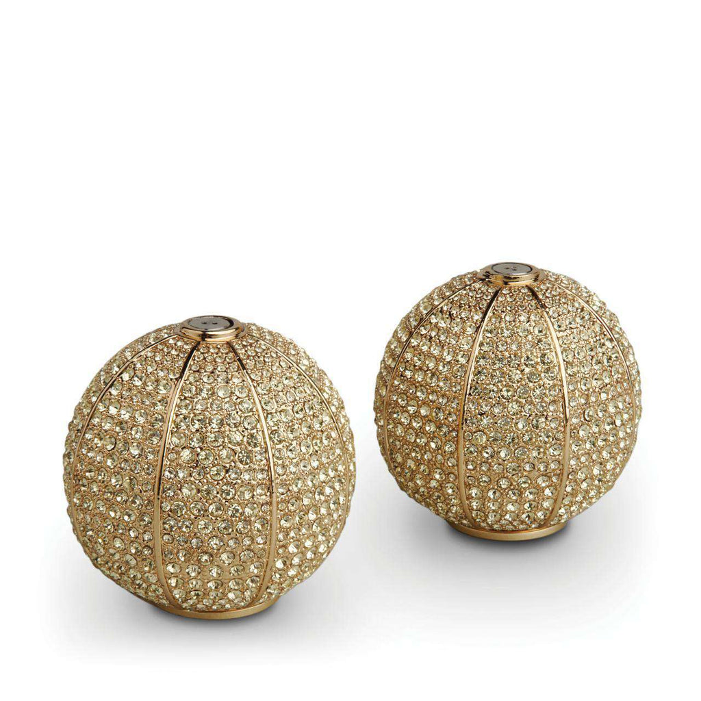 Pave Sphere Spice Jewels - Gold & Yellow Crystals - TERTIUS COLLECTION