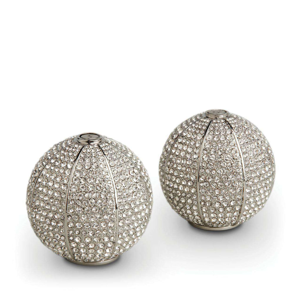 Pave Sphere Spice Jewels - Platinum - TERTIUS COLLECTION