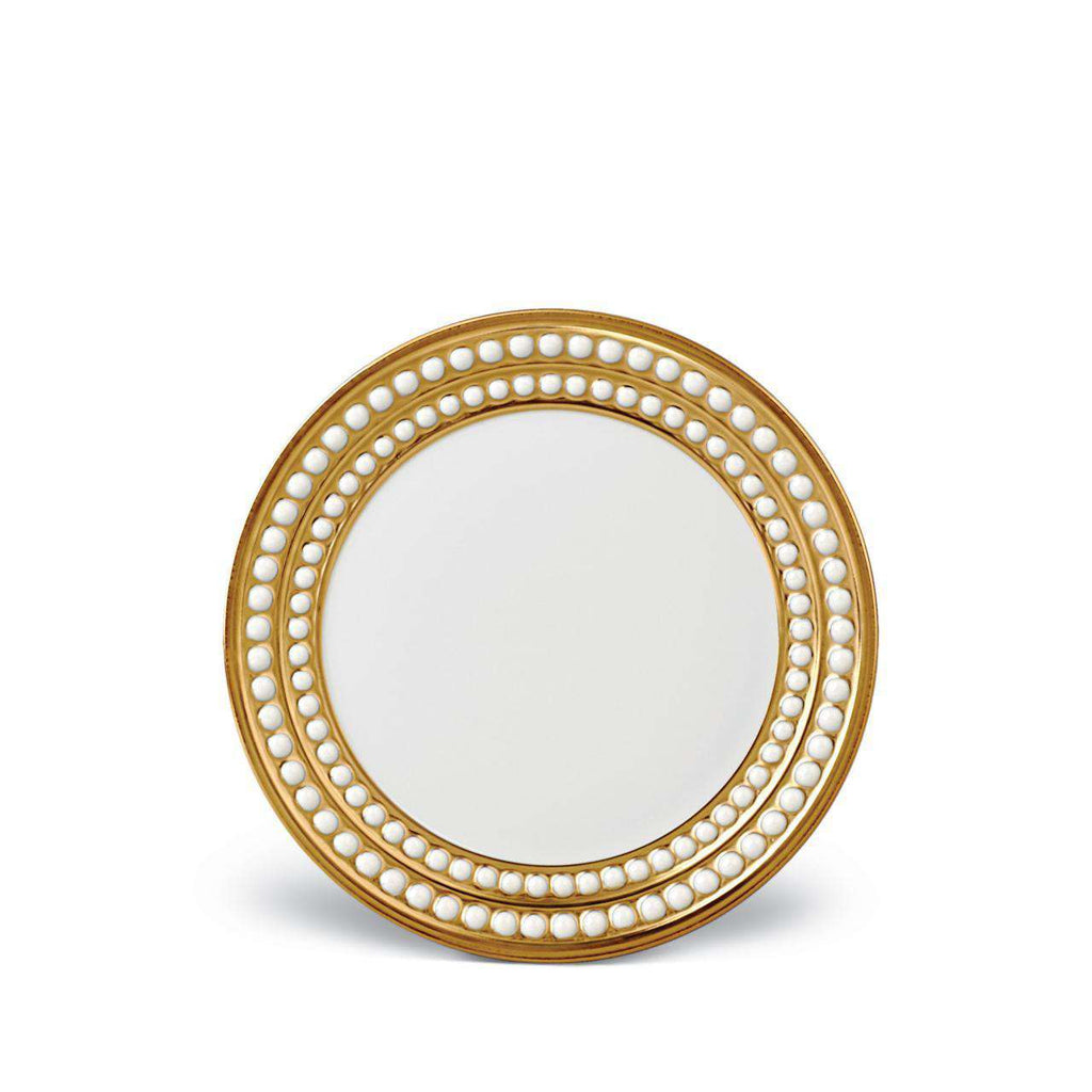 Perlée Bread & Butter Plate - Gold - TERTIUS COLLECTION