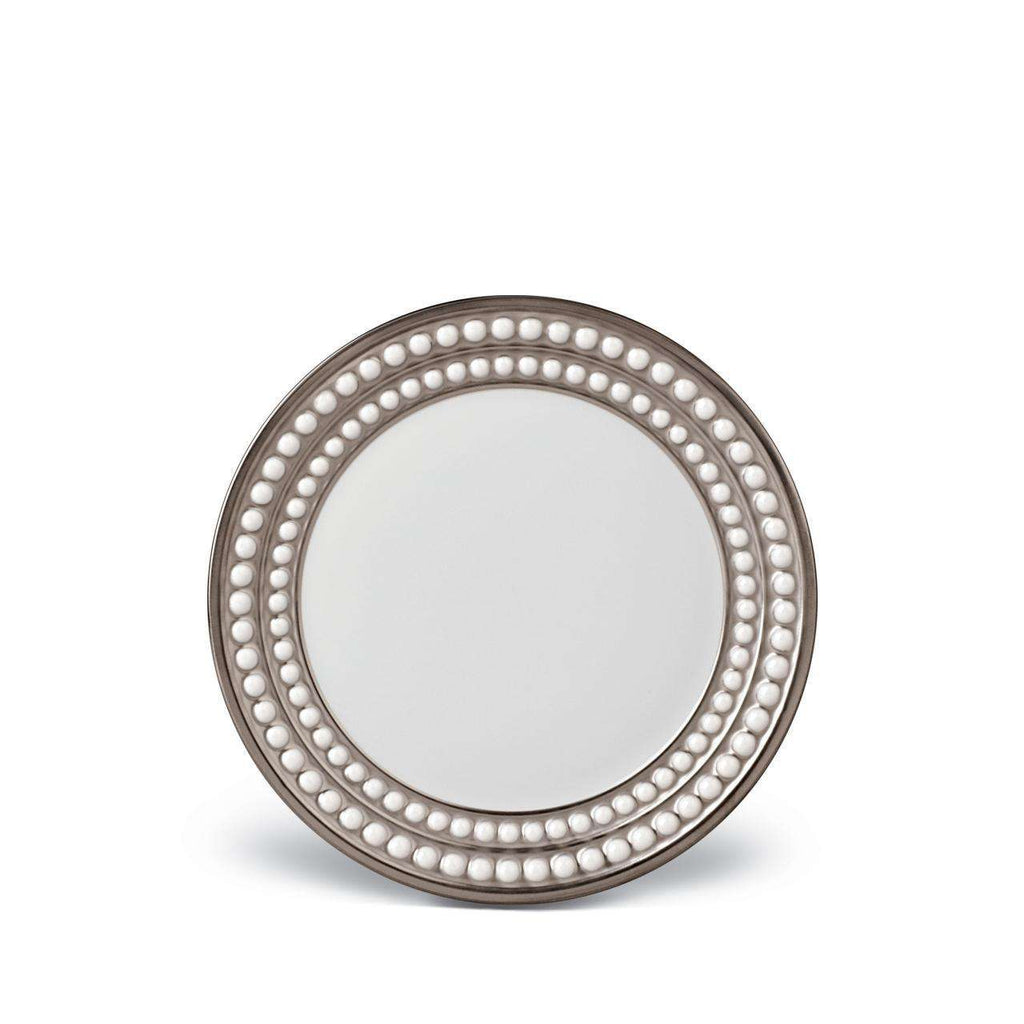 Perlée Bread & Butter Plate - Platinum - TERTIUS COLLECTION