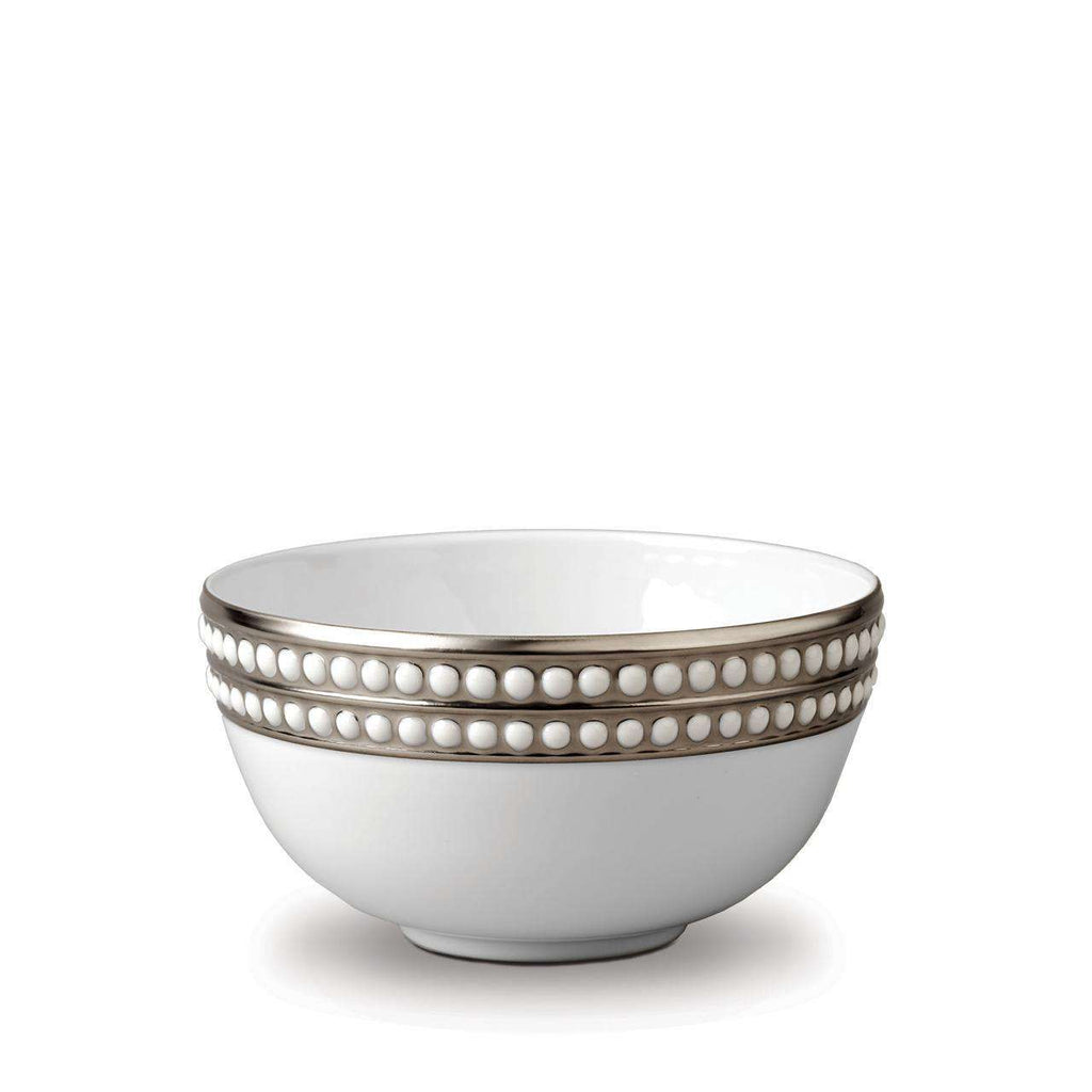 Perlée Cereal Bowl - Medium - Platinum - TERTIUS COLLECTION