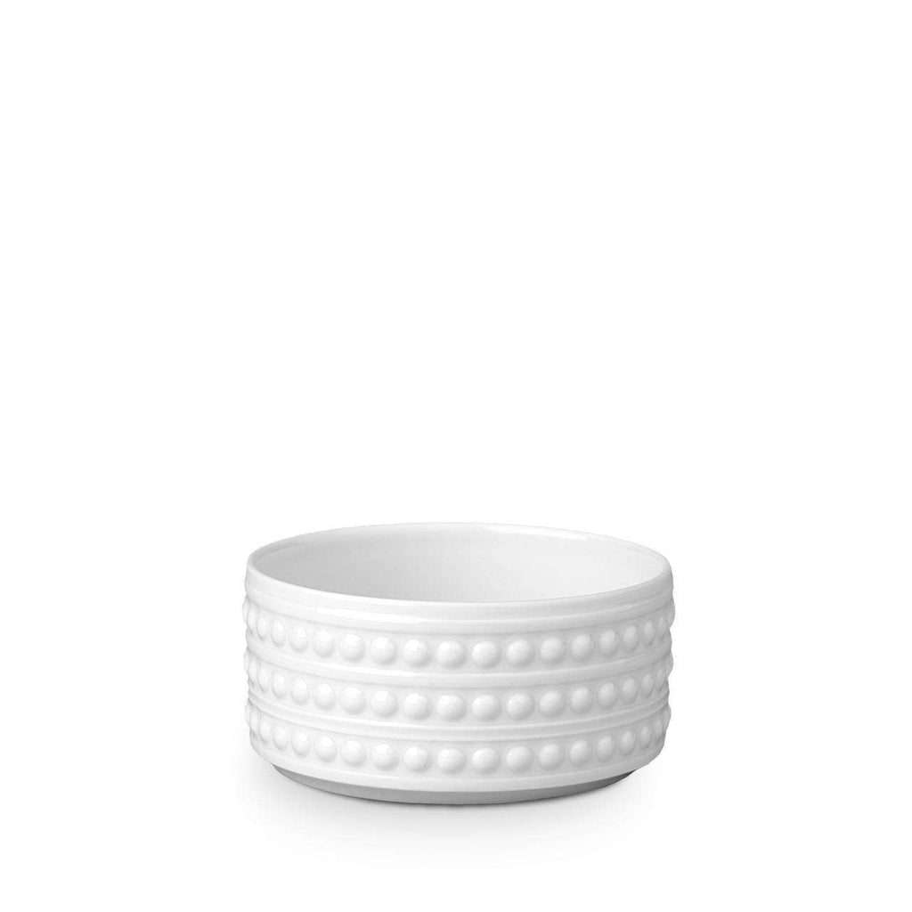 Perlée Deep Bowl - Small - White - TERTIUS COLLECTION