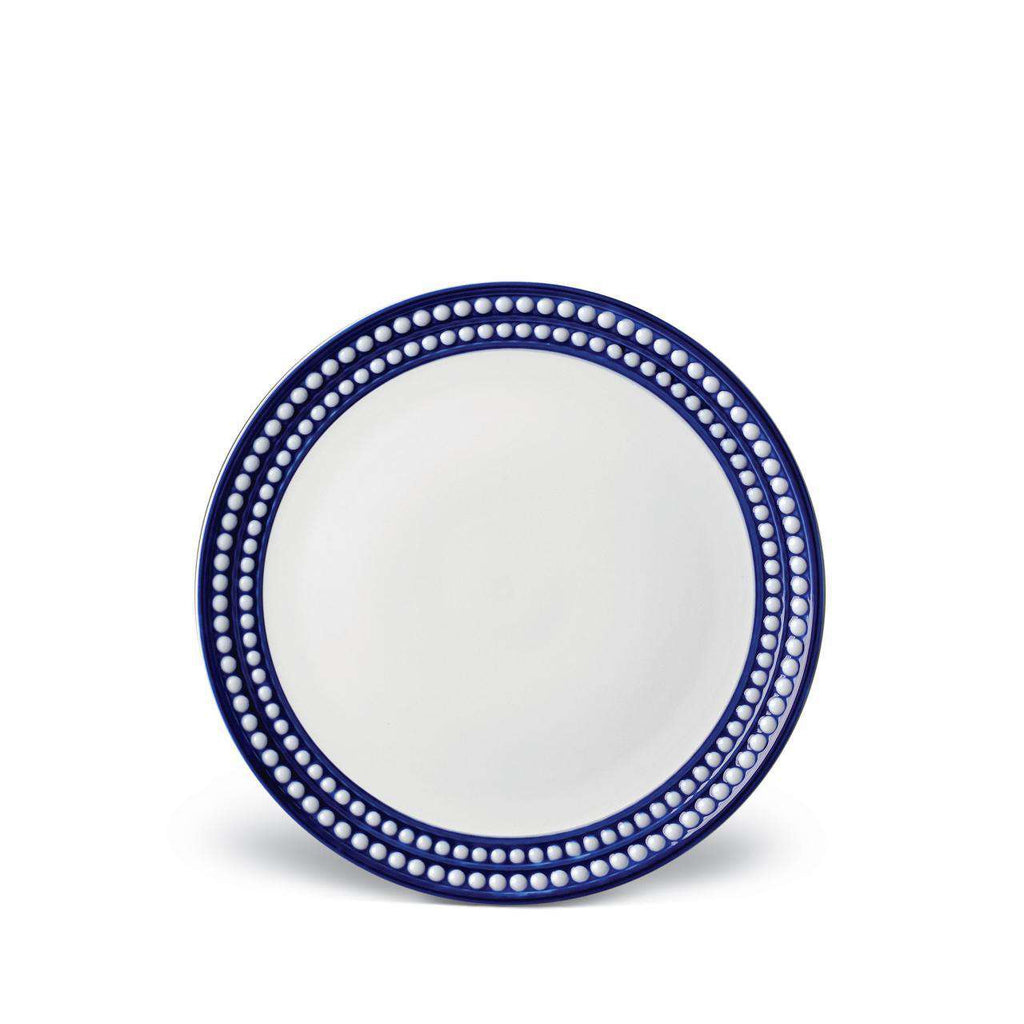 Perlée Dessert Plate - Bleu - TERTIUS COLLECTION