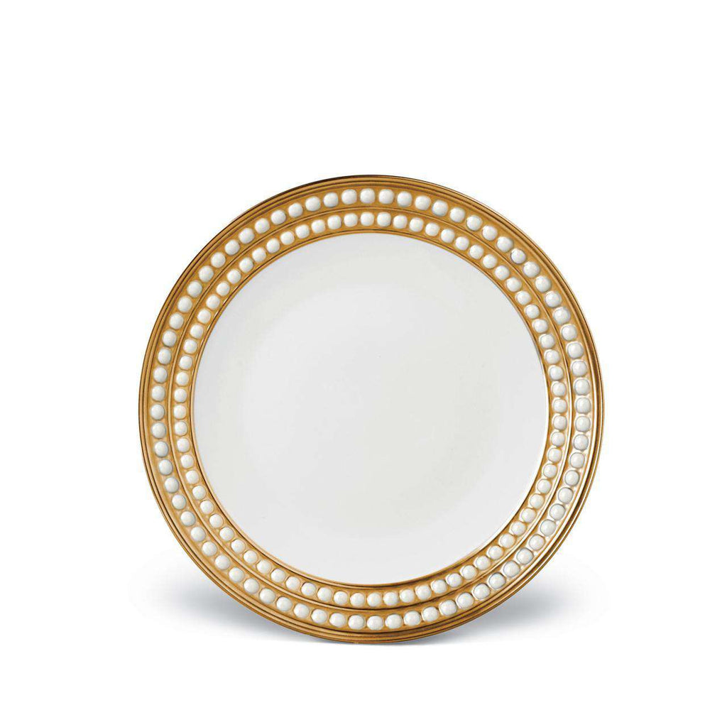 Perlée Dessert Plate - Gold - TERTIUS COLLECTION
