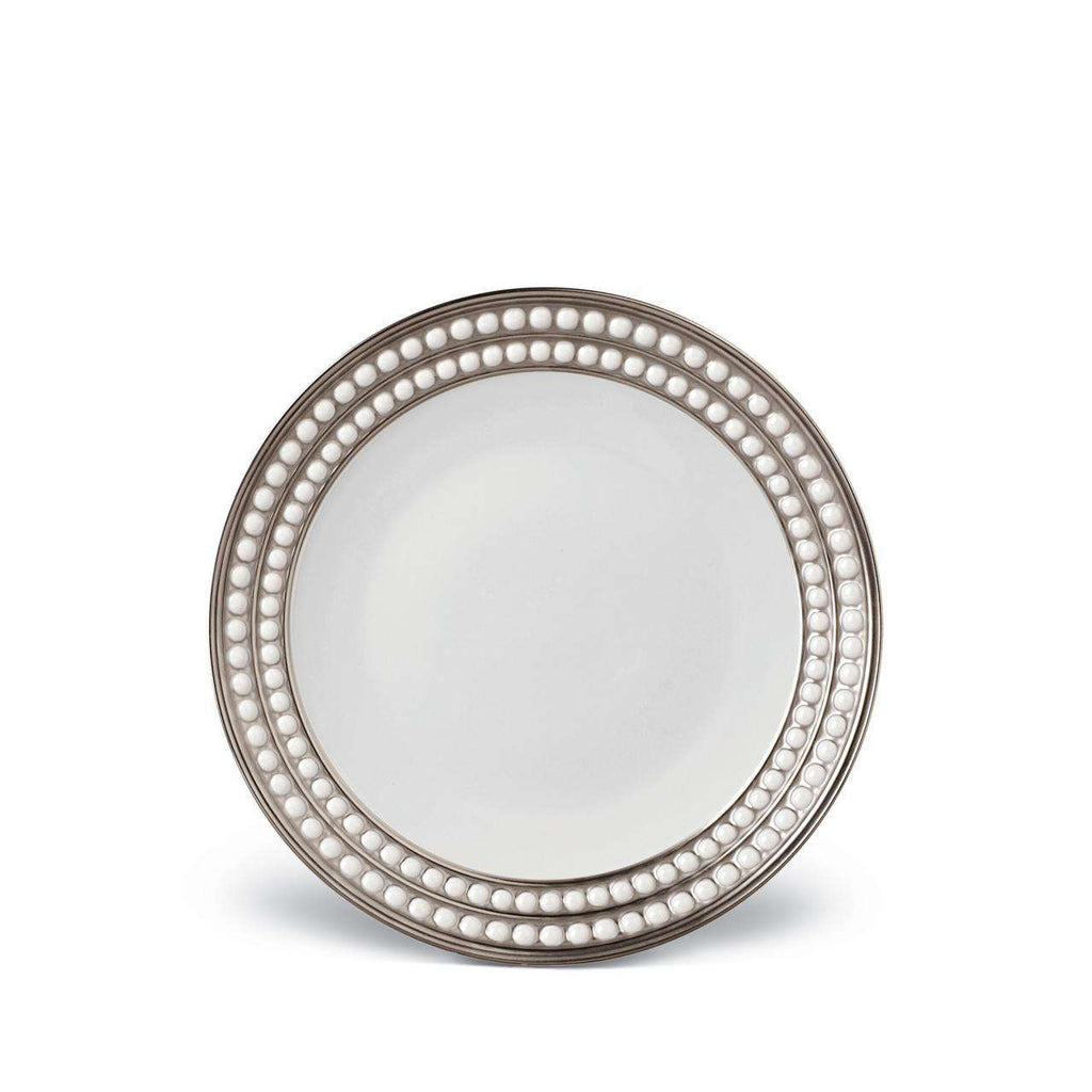 Perlée Dessert Plate - Platinum - TERTIUS COLLECTION
