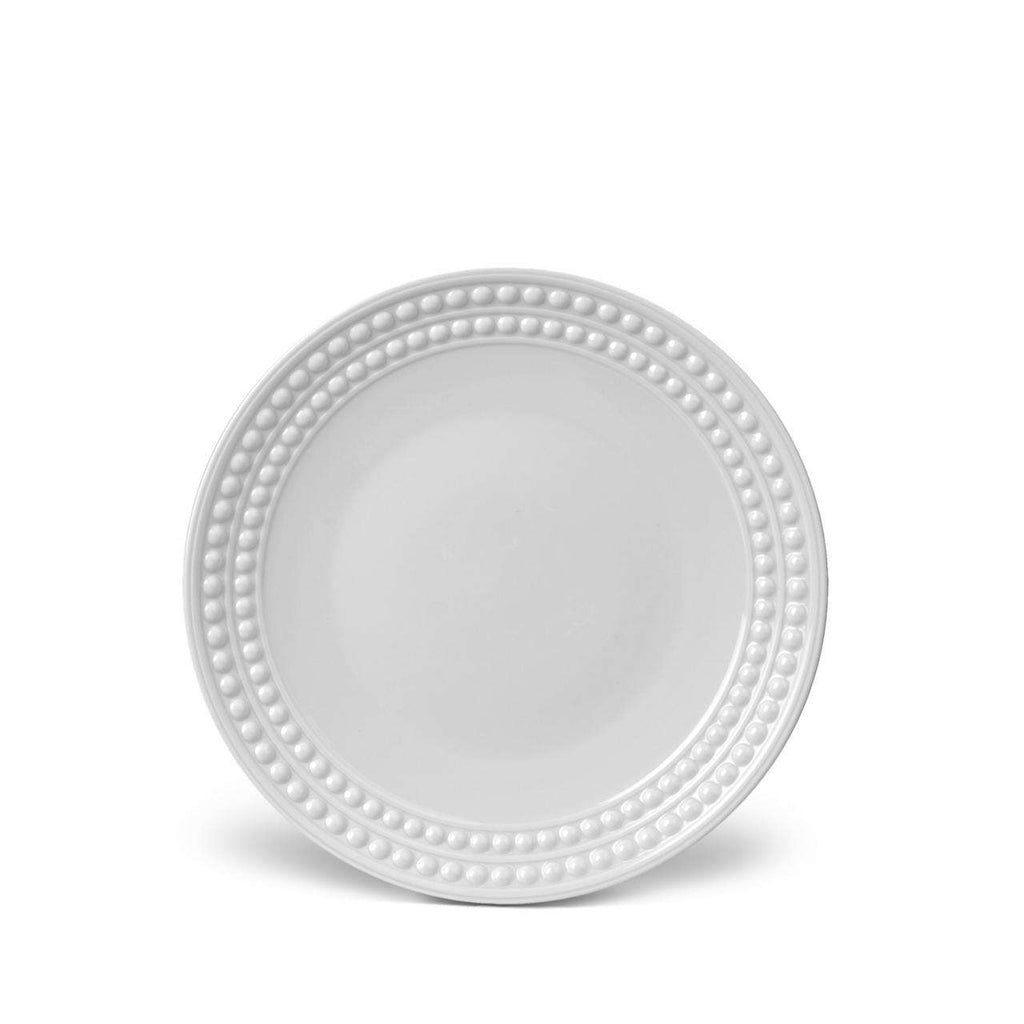 Perlée Dessert Plate - White - TERTIUS COLLECTION
