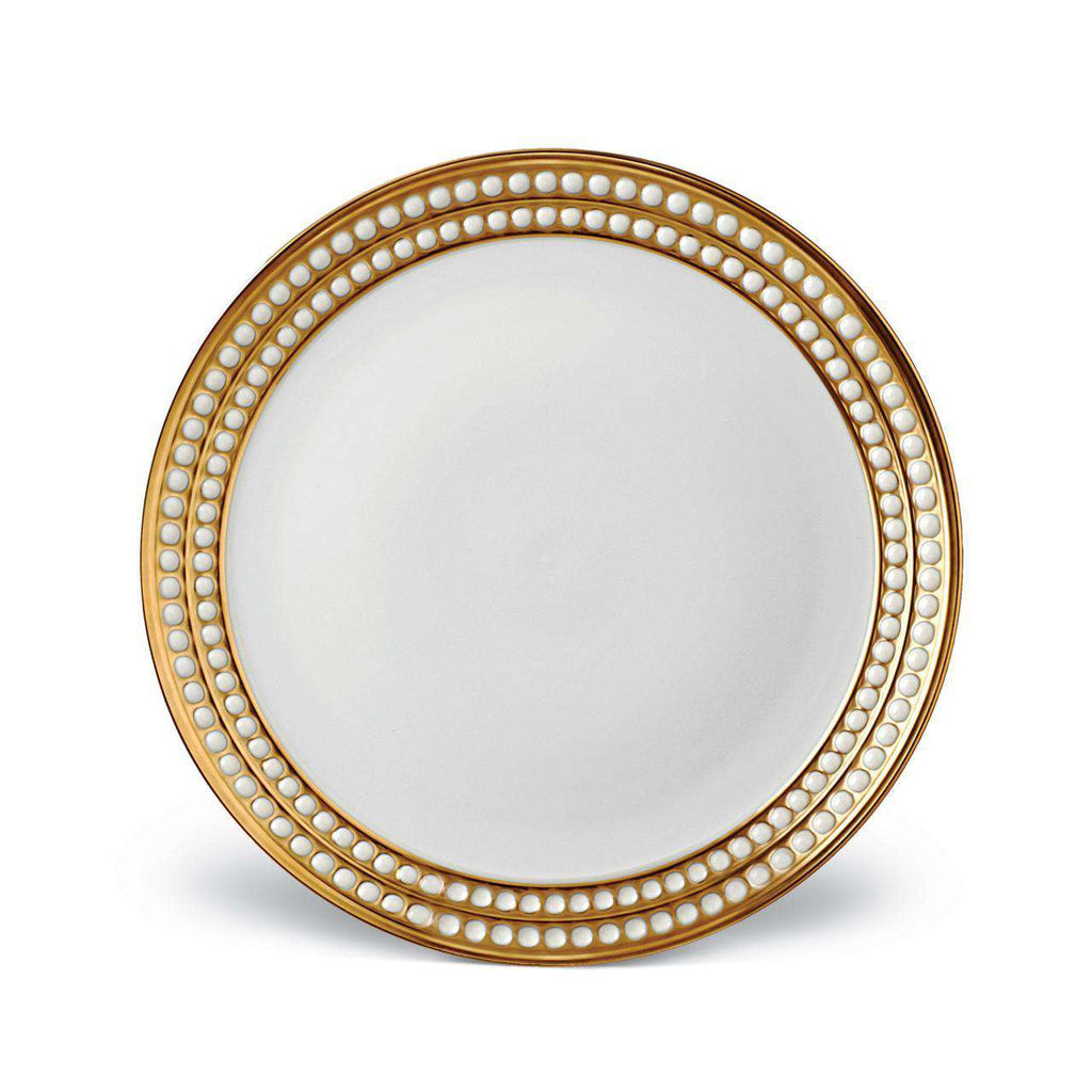 Perlée Dinner Plate - Gold - TERTIUS COLLECTION