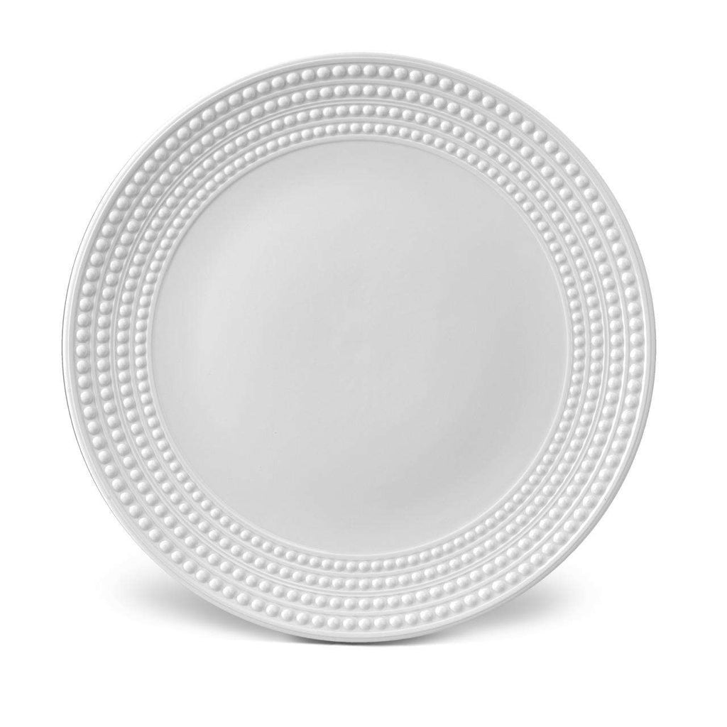 Perlée Round Platter - White - TERTIUS COLLECTION