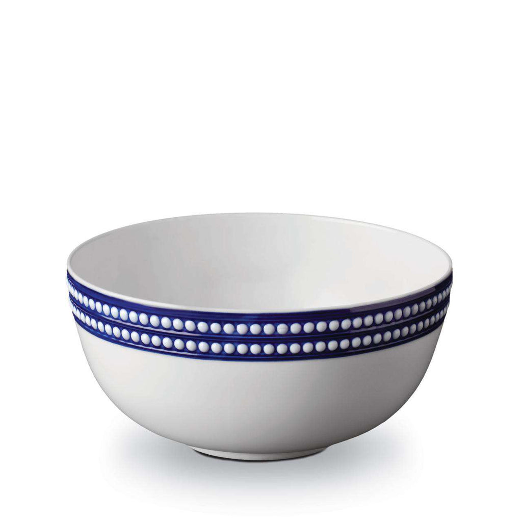 Perlée Serving Bowl - Large - Bleu - TERTIUS COLLECTION