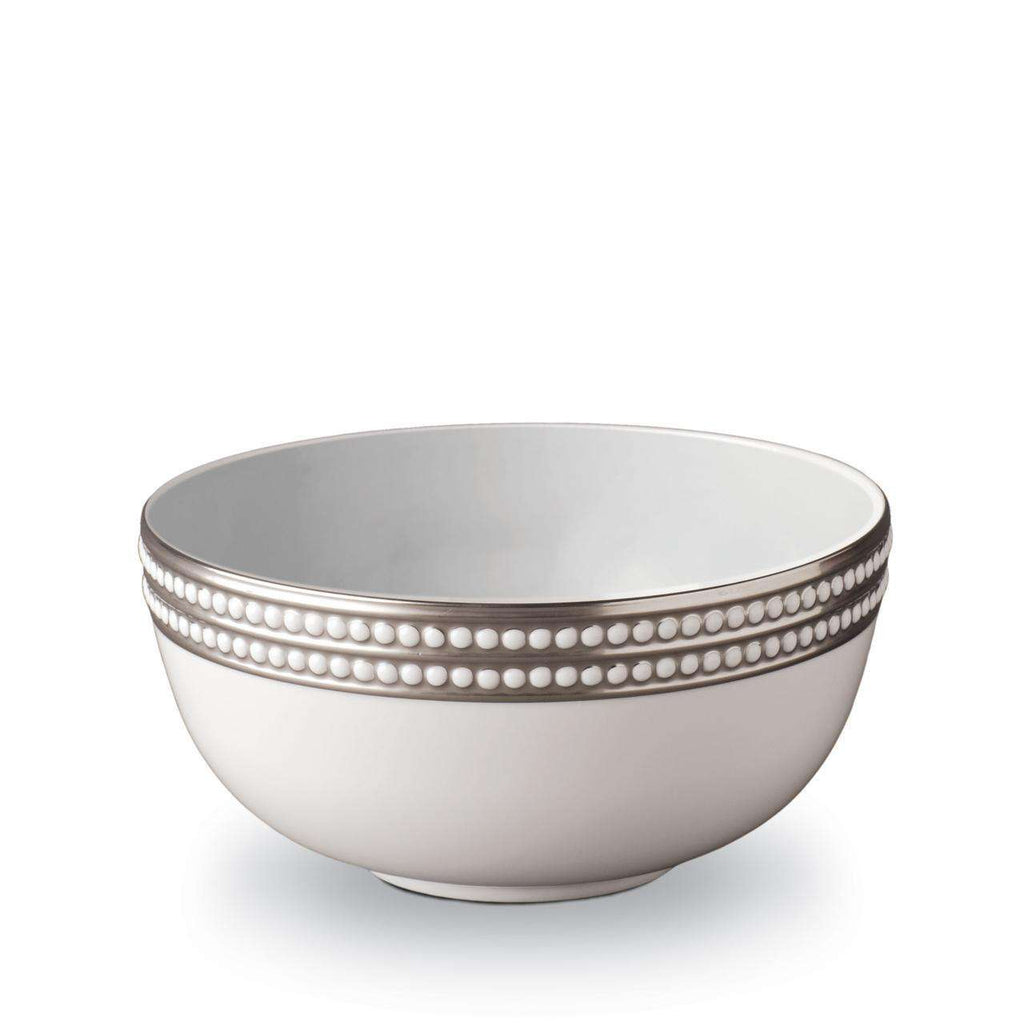 Perlée Serving Bowl - Large - Platinum - TERTIUS COLLECTION