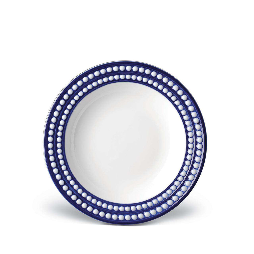 Perlée Soup Plate - Bleu - TERTIUS COLLECTION