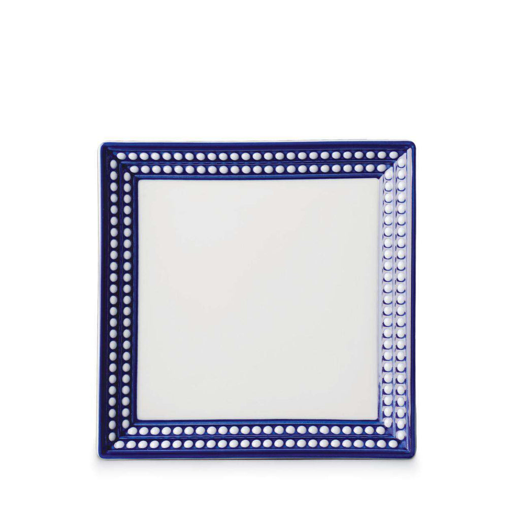 Perlée Square Tray - Small - Bleu - TERTIUS COLLECTION