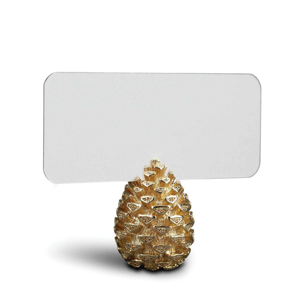 Pinecone Place Card Holders - Gold - TERTIUS COLLECTION