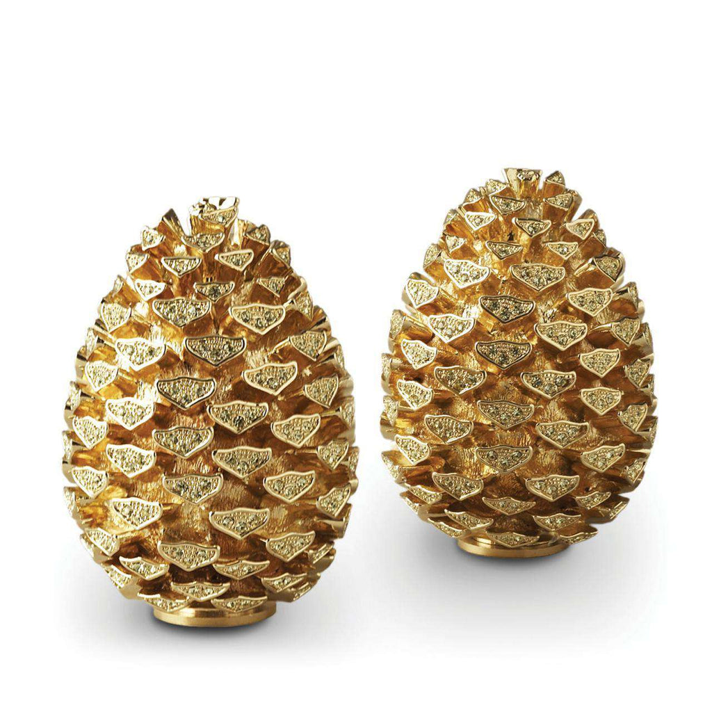 Pinecone Spice Jewels - Gold & Yellow Crystals - TERTIUS COLLECTION