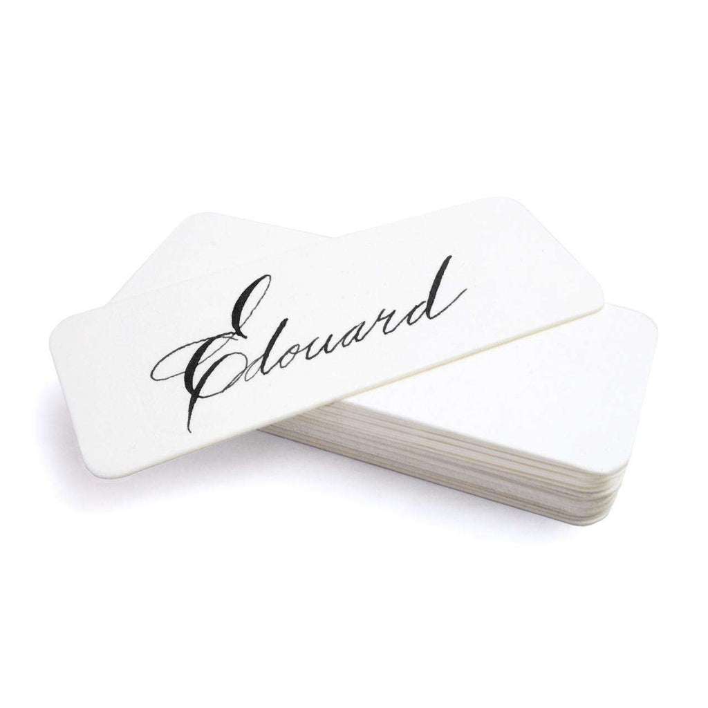 Place Card Refills - White - TERTIUS COLLECTION