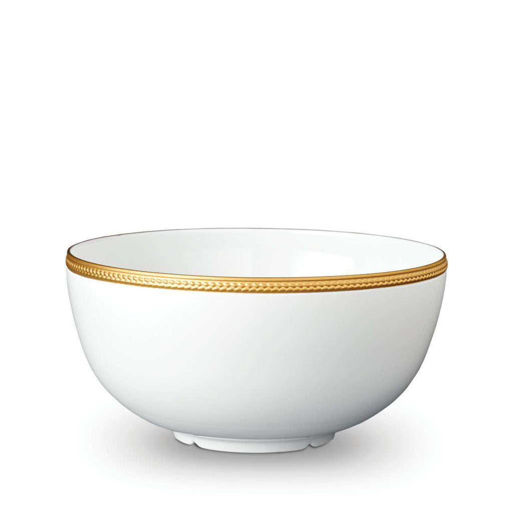 Soie Tressée Bowl - Large - Gold - TERTIUS COLLECTION