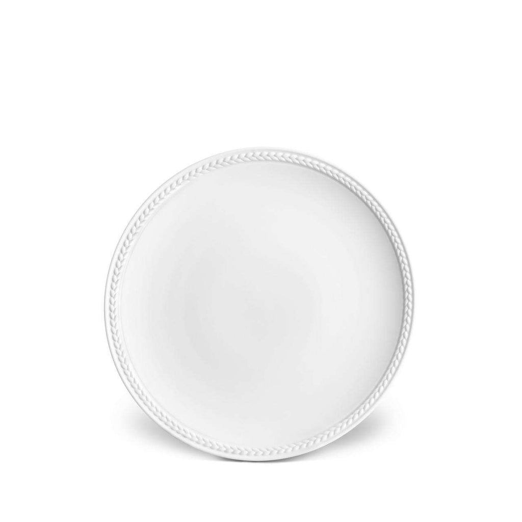 Soie Tressée Bread & Butter Plate - White - TERTIUS COLLECTION