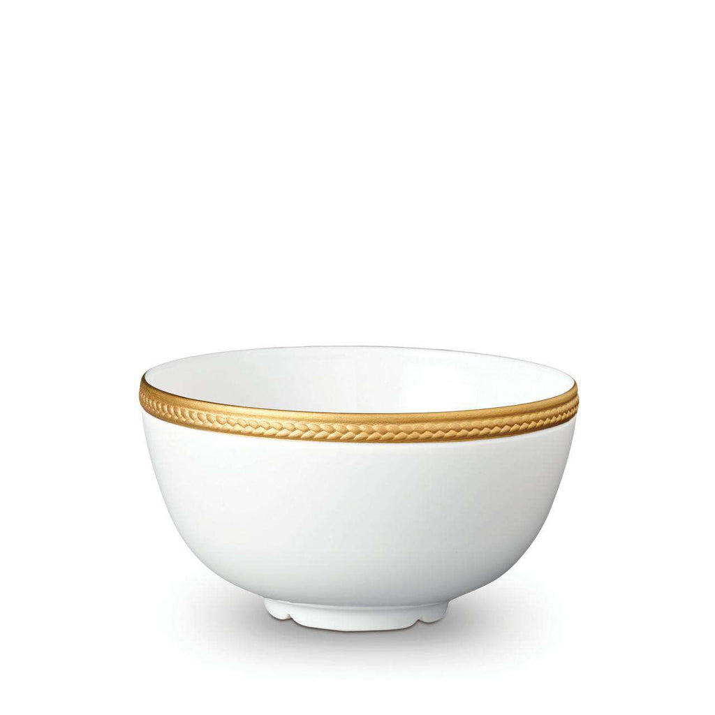 Soie Tressée Cereal Bowl - Medium - Gold - TERTIUS COLLECTION