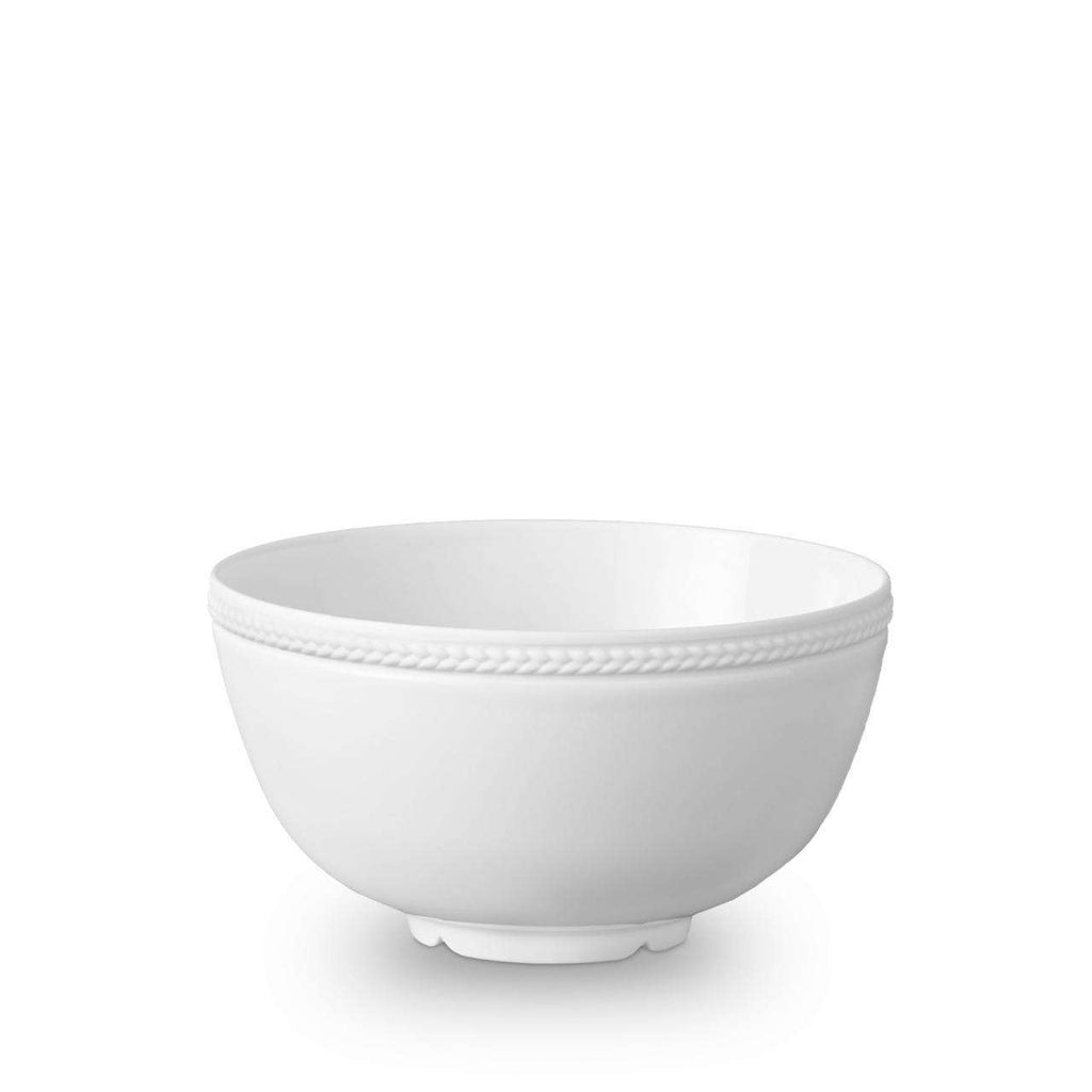 Soie Tressée Cereal Bowl - Medium - White - TERTIUS COLLECTION