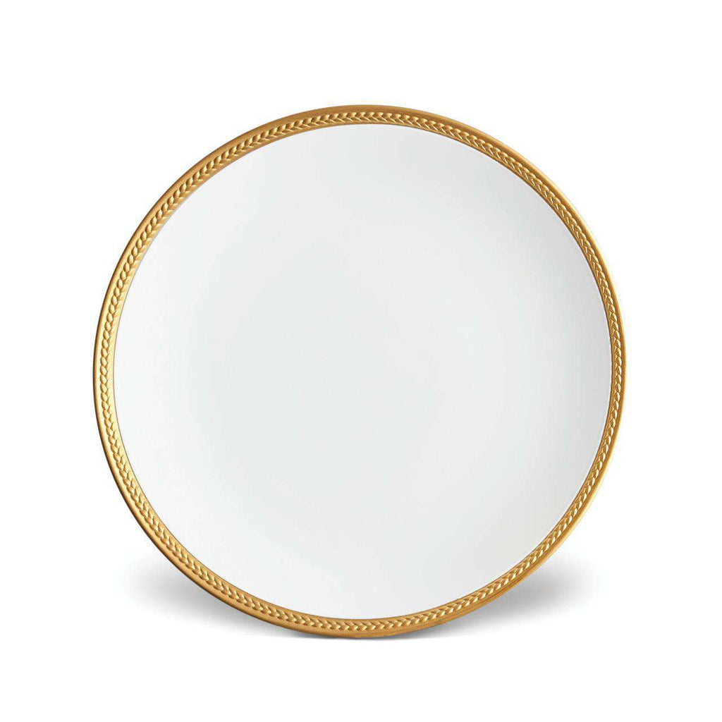 Soie Tressée Dinner Plate - Gold - TERTIUS COLLECTION