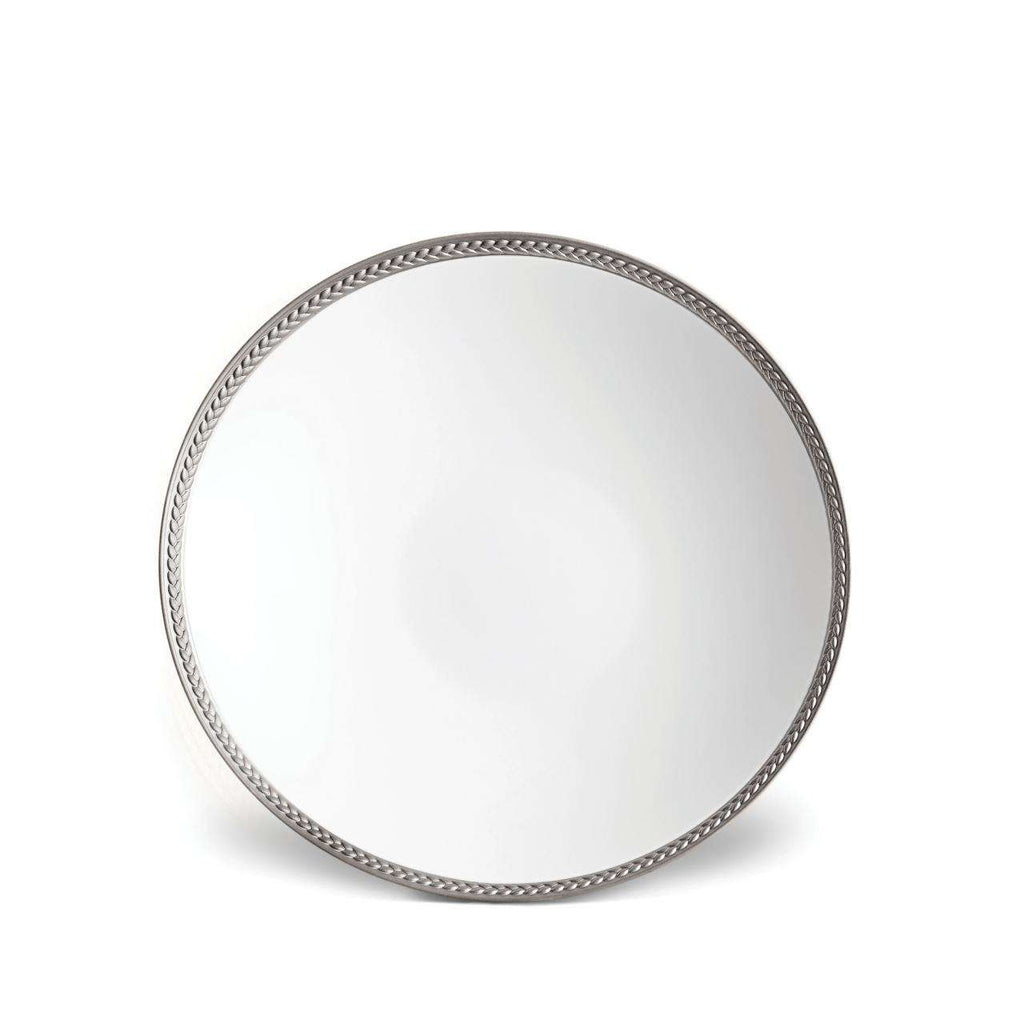 Soie Tressée Soup Plate - Platinum - TERTIUS COLLECTION