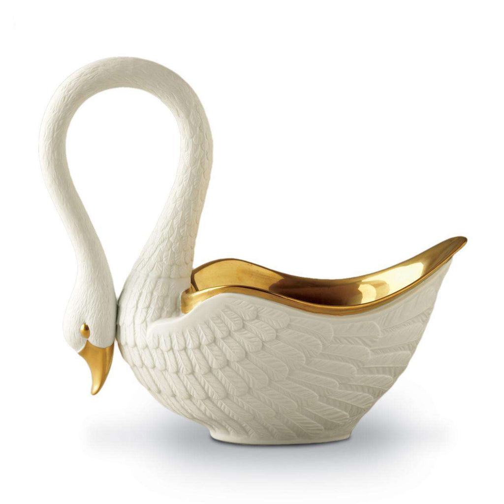 Swan Bowl - Large - White - TERTIUS COLLECTION