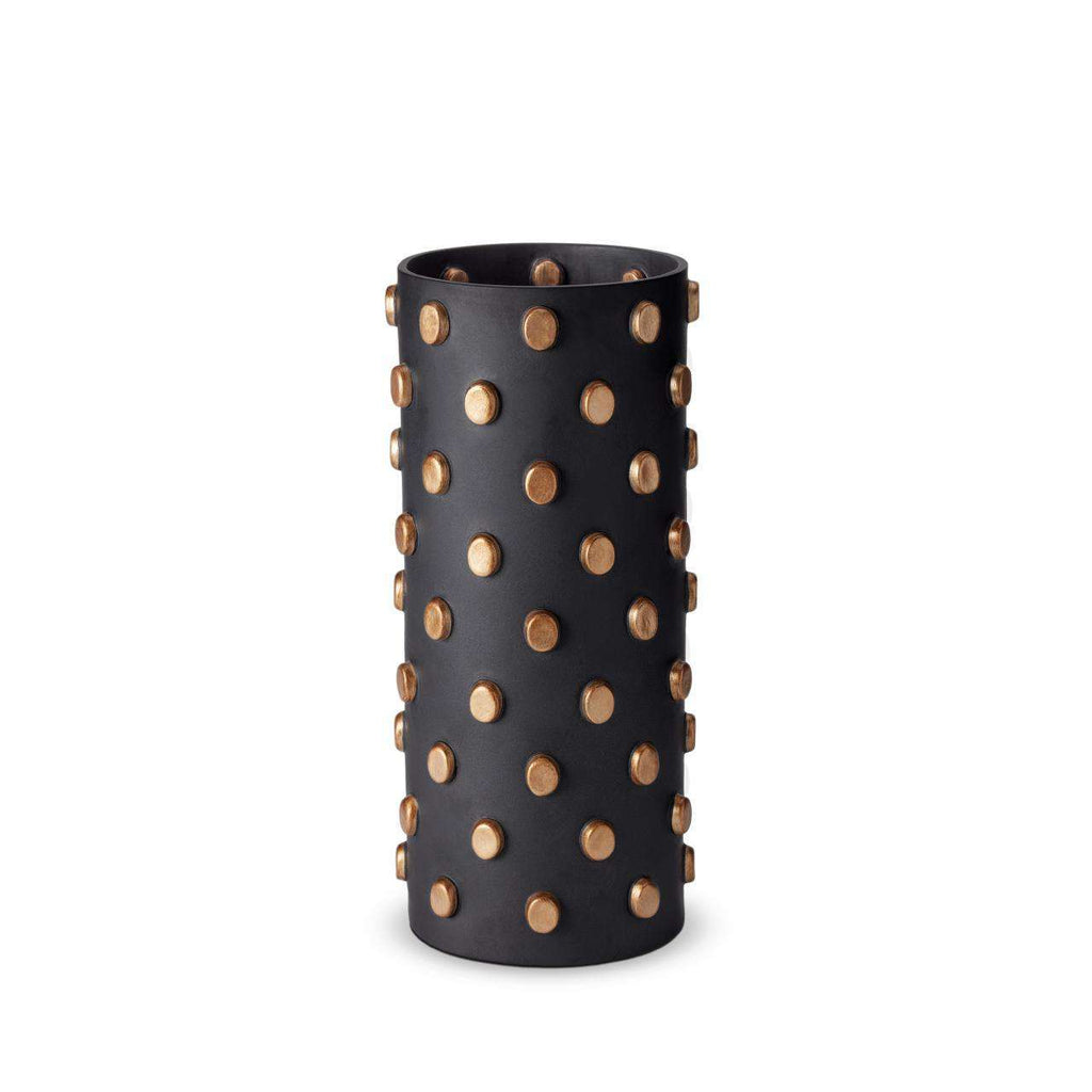 Teo Vase - Large - Black & Gold - TERTIUS COLLECTION