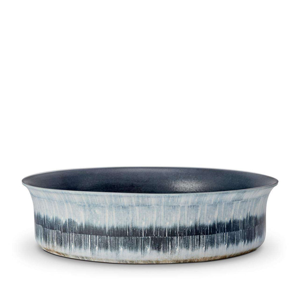 Tribal Bowl - Large - Blue & White - TERTIUS COLLECTION