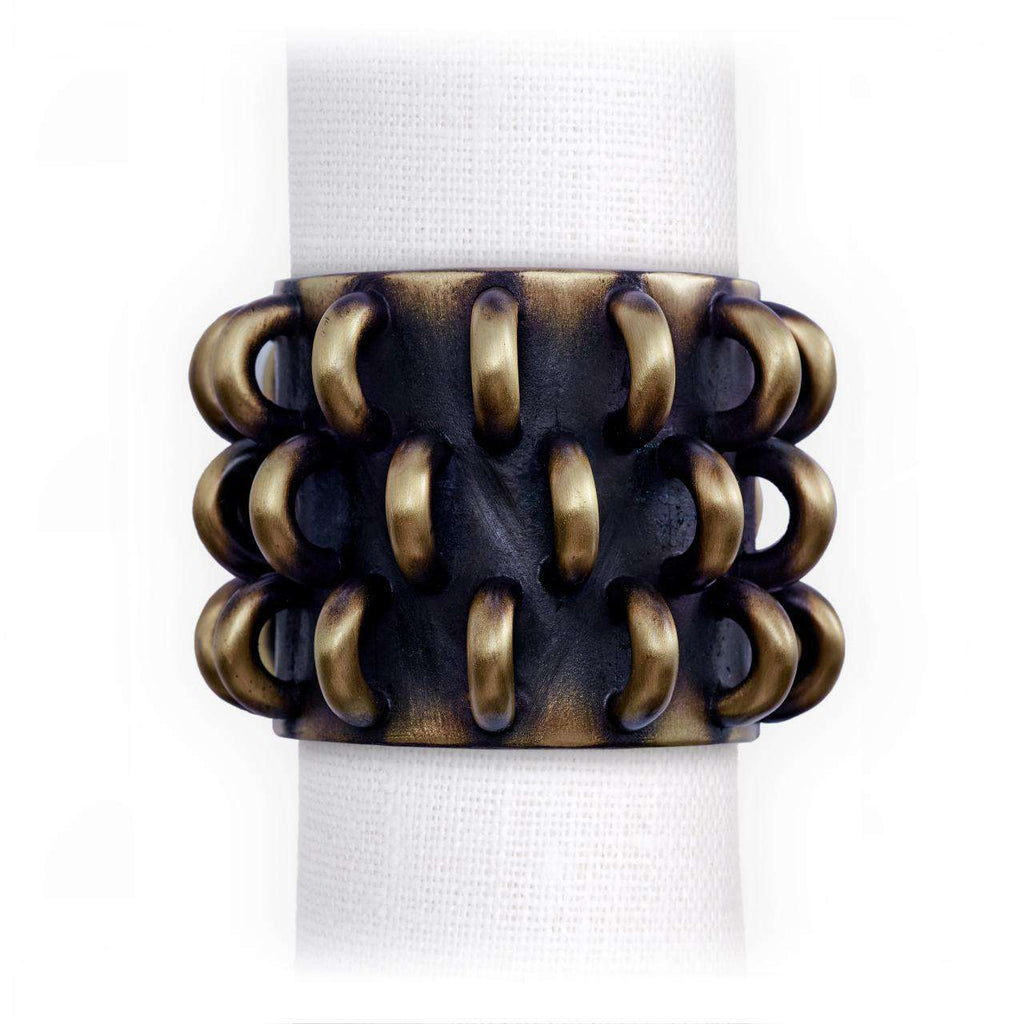 Tulum Rings Napkin Jewels - TERTIUS COLLECTION