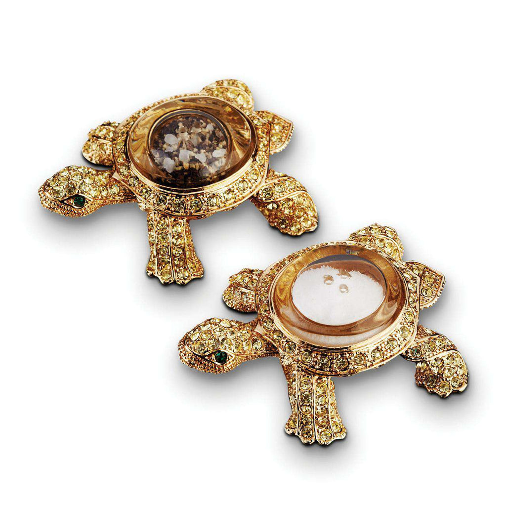 Turtle Spice Jewels - Gold & Yellow Crystals - TERTIUS COLLECTION