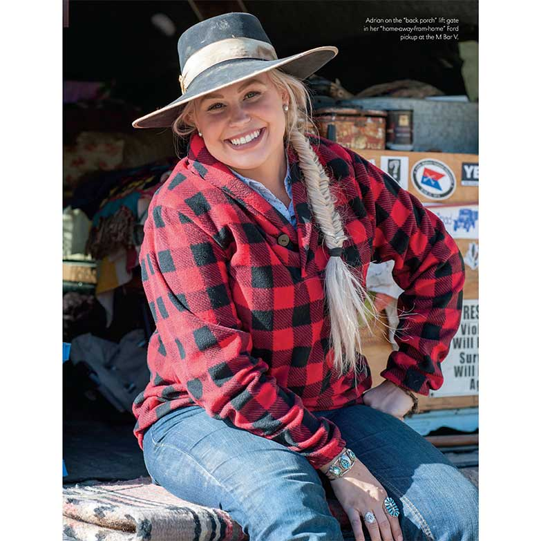 Cowgirl Magazine January February 2018 Adrian Buckaroo Girl
