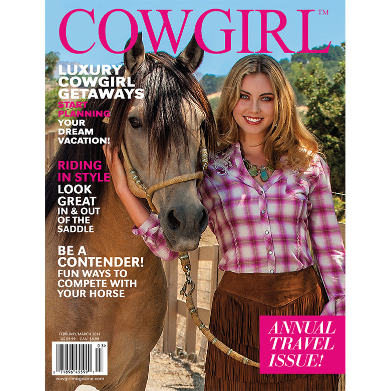 Cowgirl Magazine February-March 2014 Cover