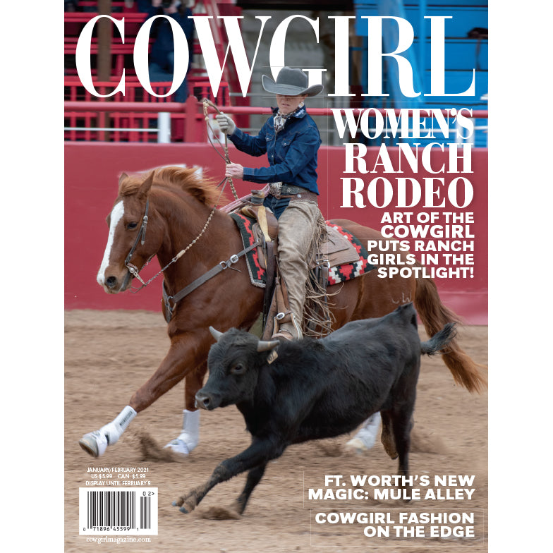 Cowgirl Magazine JanFeb2021 - Women's Ranch Rodeo