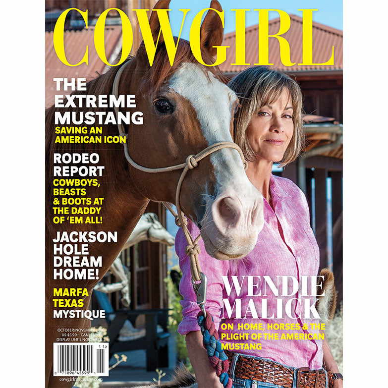 Cowgirl Magazine October-November 2016 Cover | Wendie Malick