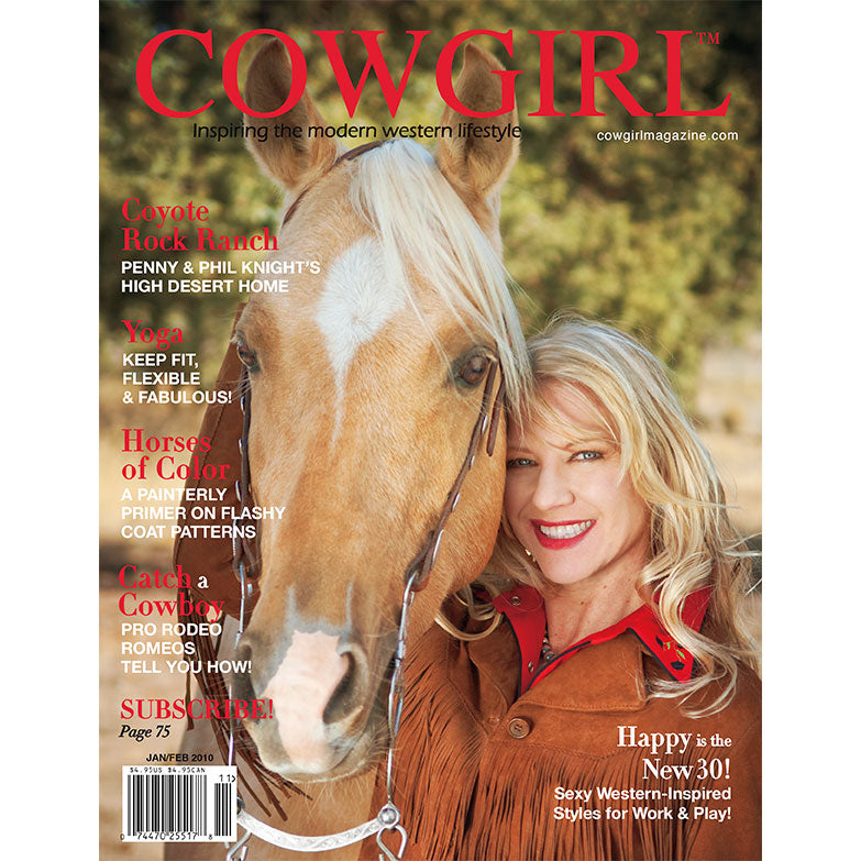 Cowgirl Magazine January-February 2010 Cover | Horses of Color