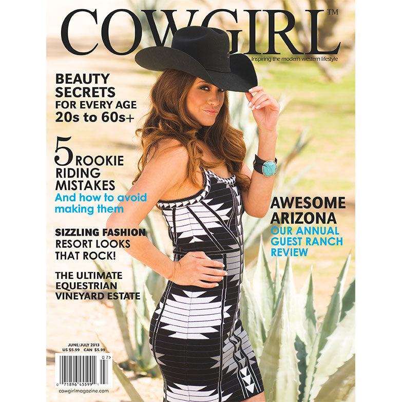 COWGIRL Magazine June-July 2013 | 5 Rookie Riding Mistakes