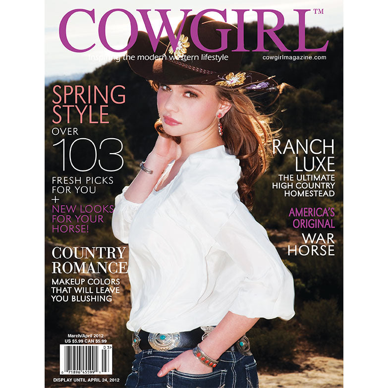 Cowgirl Magazine March-April 2012 Cover | High Country Homestead