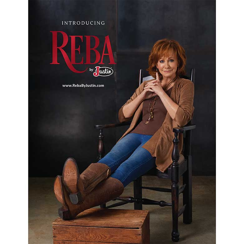 Cowgirl Magazine January February 2018 | Reba's New Boots!