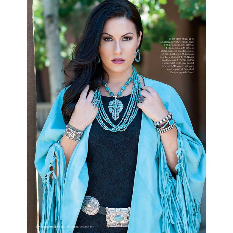 Cowgirl Magazine September-October 2017 | Santa Fe Jewelry