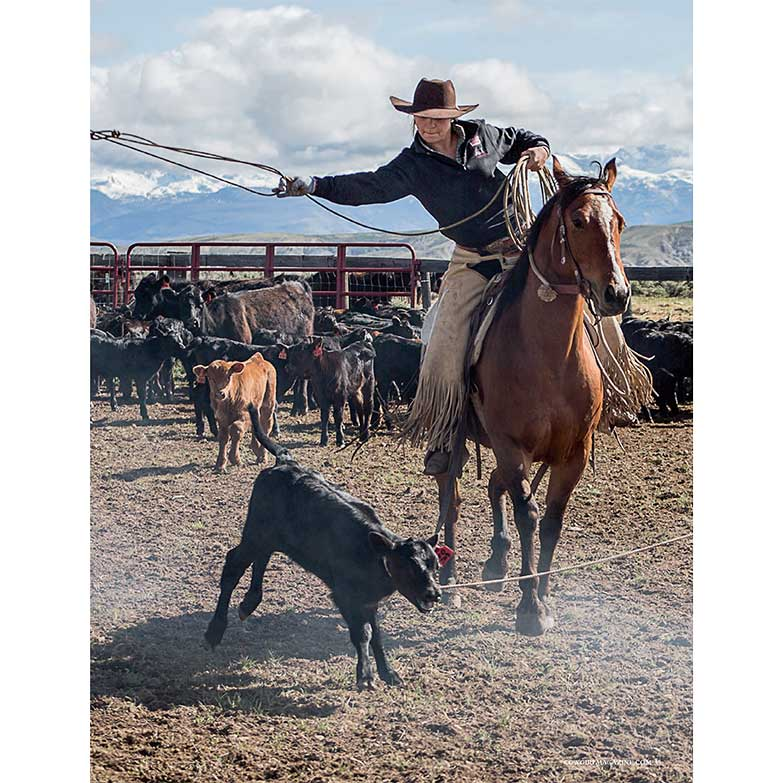 Cowgirl Magazine Women's Ranch Rodeo Reata Brannaman