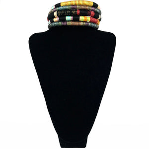 African Tribal Necklace - Black